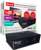 ТВ приставка DVB-T2 D-Color DC600HD - Интернет-магазин - RegionRF - Екатеринбург