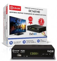 ТВ приставка DVB-T2 D-Color DC1401HD - Интернет-магазин - RegionRF - Екатеринбург