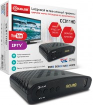 ТВ приставка DVB-T2 D-Color DC811HD - Интернет-магазин - RegionRF - Екатеринбург