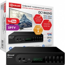 ТВ приставка DVB-T2 D-Color DC1802HD - Интернет-магазин - RegionRF - Екатеринбург