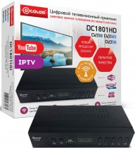 ТВ приставка DVB-T2 D-Color DC1801HD - Интернет-магазин - RegionRF - Екатеринбург