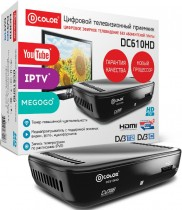 ТВ приставка DVB-T2 D-Color DC610HD - Интернет-магазин - RegionRF - Екатеринбург