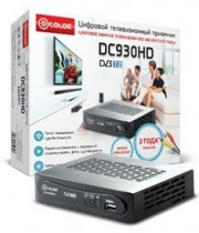 ТВ приставка DVB-T2 D-Color DC930HD HDMI, USB, 3xRCA,  Full HD, TimeShift - Интернет-магазин - RegionRF - Екатеринбург