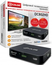 ТВ приставка DVB-T2 D-Color DC802HD - Интернет-магазин - RegionRF - Екатеринбург